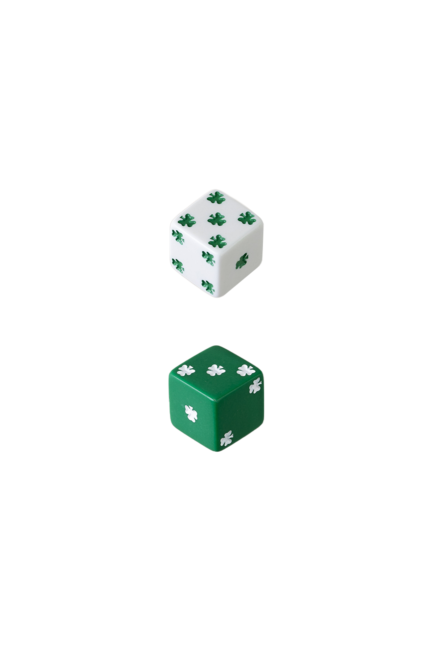25mm Lucky dice
